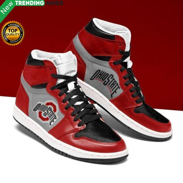 Ohio State Buckeyes Ncaa Jordan Shoes Unique Ohio State Buckeyes Football Custom Sneakers Shoes & Sneaker
