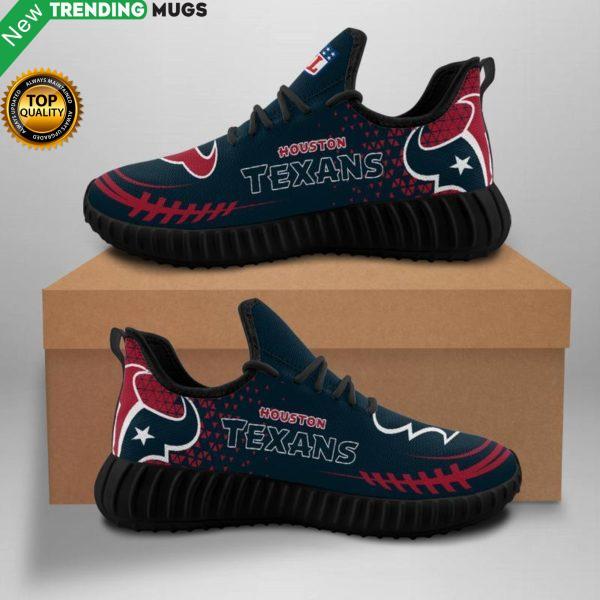 Houston Texans Unisex Sneakers New Sneakers Custom Shoes Houston Texans Football Yeezy Boost Shoes & Sneaker