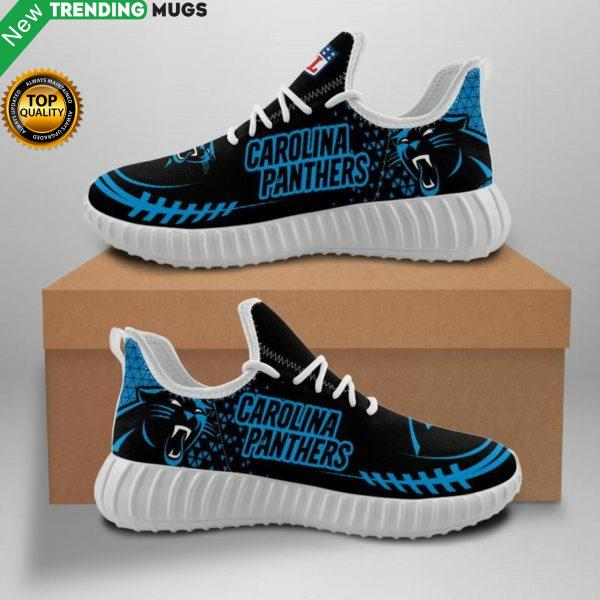 Carolina Panthers Unisex Sneakers New Sneakers Custom Shoes Football Yeezy Boost Shoes & Sneaker