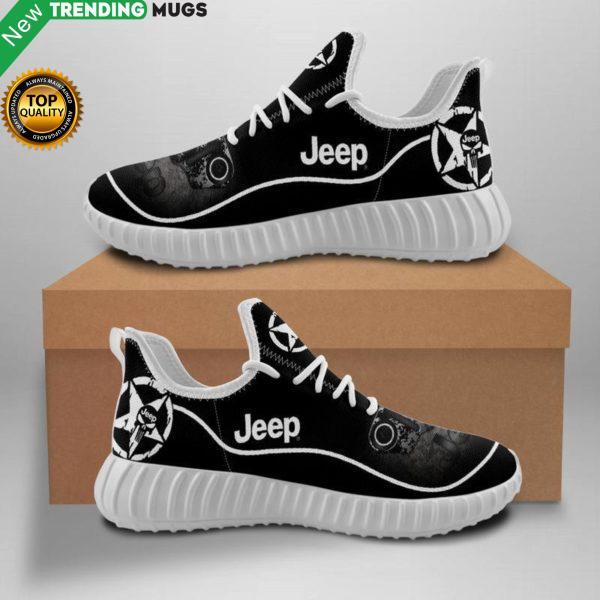 Jeep Car Sneakers Custom Shoes Jeep Truck Yeezy Boost Shoes & Sneaker