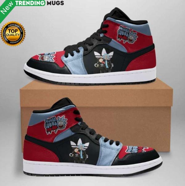 Rick And Morty Jordan Sneakers Custom Jordan Shoe Sneaker Dakingmanstore Shoes & Sneaker