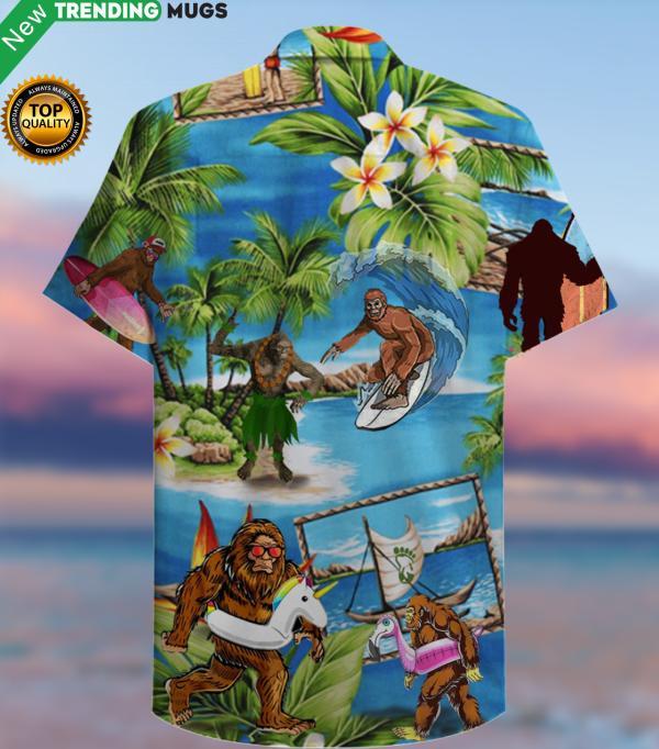 Amazing Bigfoot Hawaiian Shirt | Unisex Jisubin Apparel