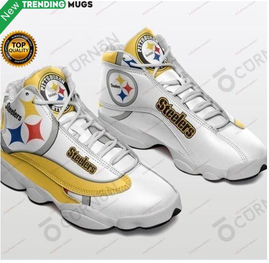Pittsburgh Steelers Air Jd13 Sneakers Shoes & Sneaker