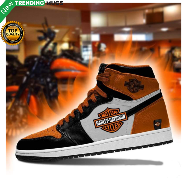 Harley Davidson Men Jordan Shoes Motorcycle Harley Davidson Custom Sneakers Pgc Shoes & Sneaker