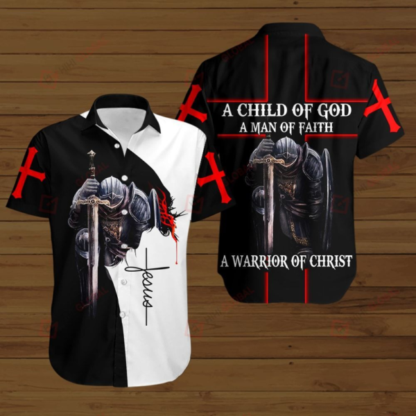 A Child Of God Hawaiian Shirt Jisubin Apparel
