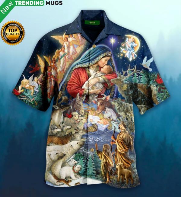 Jesus Christmas Hawaiian Shirt Jisubin Apparel