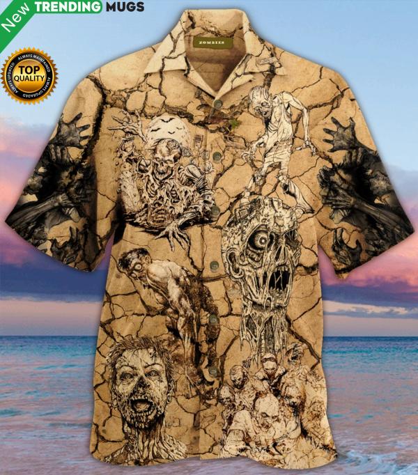 Amazing Zombies Hawaiian Shirt Jisubin Apparel