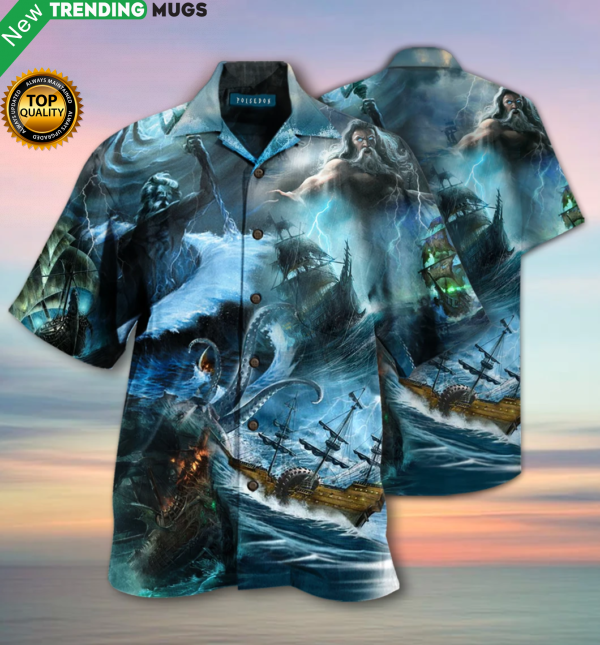 Amazing Poisedon Greek Mythology Unisex Hawaiian Shirt HW Jisubin Apparel