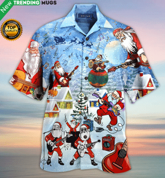 Christmas Hawaiian Shirt Jisubin Apparel