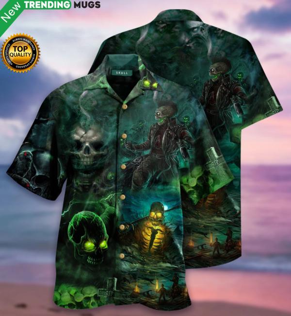Halloween Hawaiian Shirt Jisubin Apparel