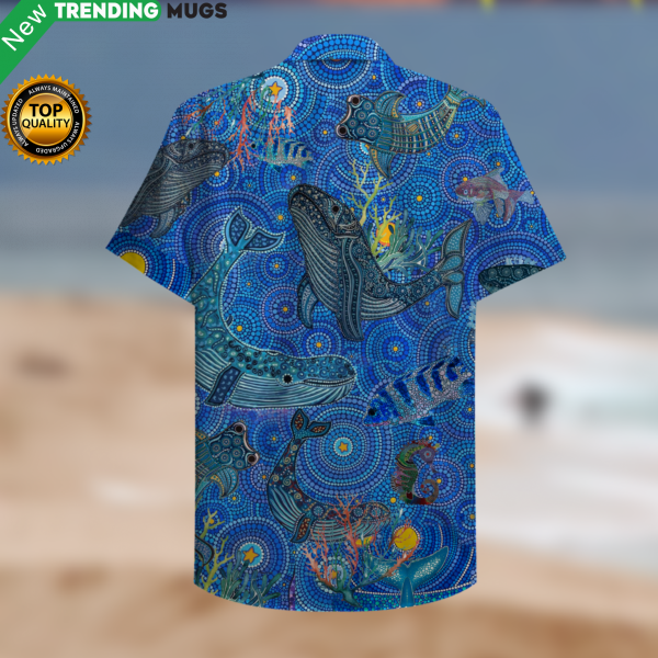 Amazing Whale Hawaiian Shirt Jisubin Apparel