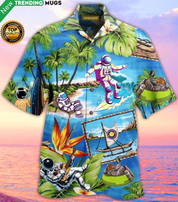 Amazing Astronaut Hawaiian Shirt Jisubin Apparel