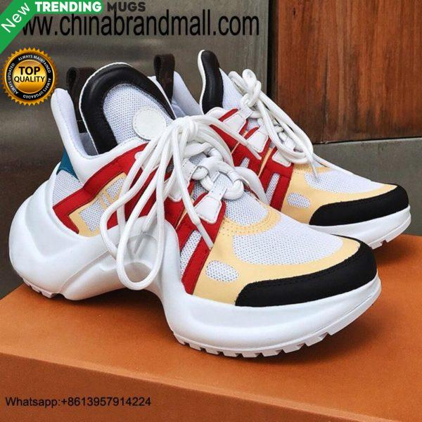 Womens Shoes Summer Sneakers Mixed Color Flats Womens Luxury Platform Sneakers Luxury Sneakers Women Shoes & Sneaker