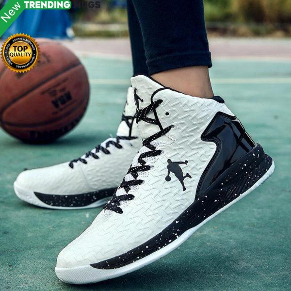 High Top Jordan Basketball Shoes 47 Men Outdoor Sneakers 46 Women Wear Resistant Cushioning Shoes Breathable Sport Shoes Unisex Shoes & Sneaker