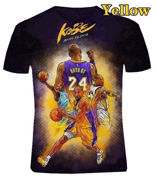 2020 Basketball Star Kobe Bryant T Shirt Jisubin Apparel