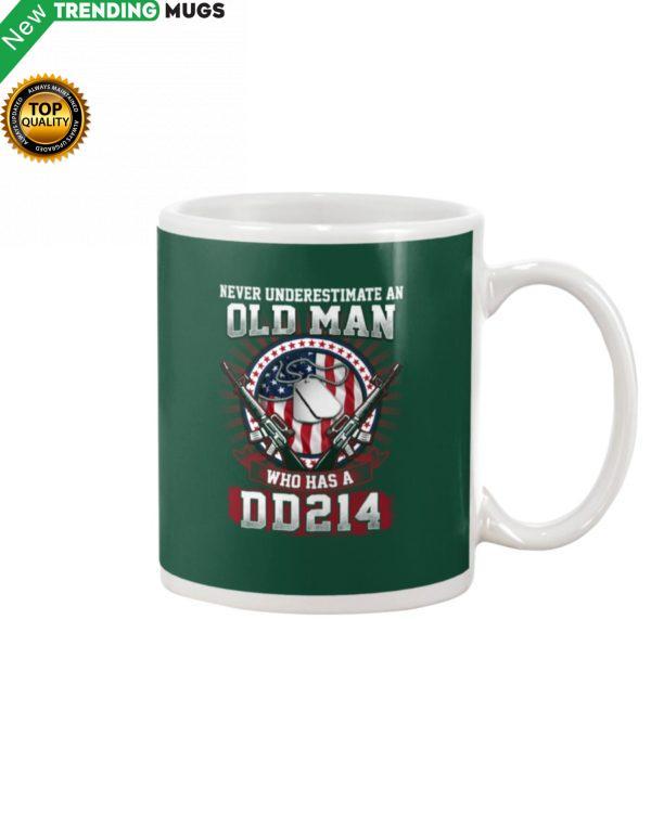 Old Man With DD 214 Mug Apparel