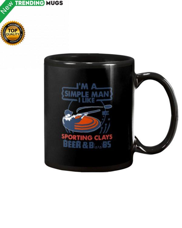 I'm A Simple Man Sporting Clays Mug Apparel