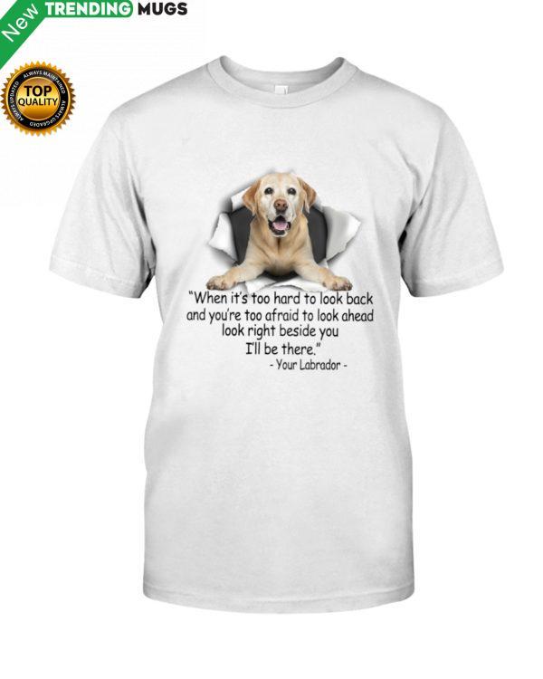 Labrador Torn Shirt, Hoodie Apparel