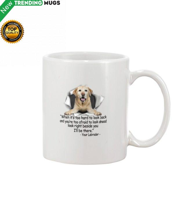 Labrador Torn Mug Apparel