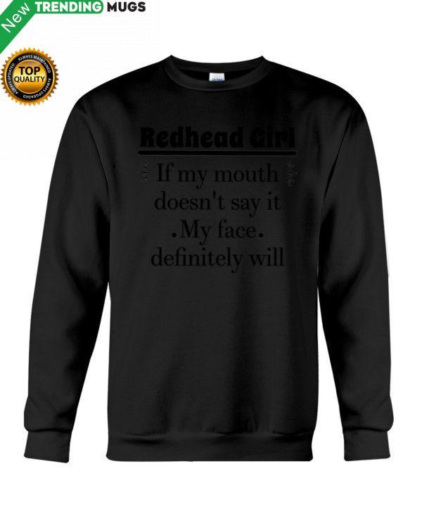 REDHEAD GIRL Shirt, Hoodie Apparel
