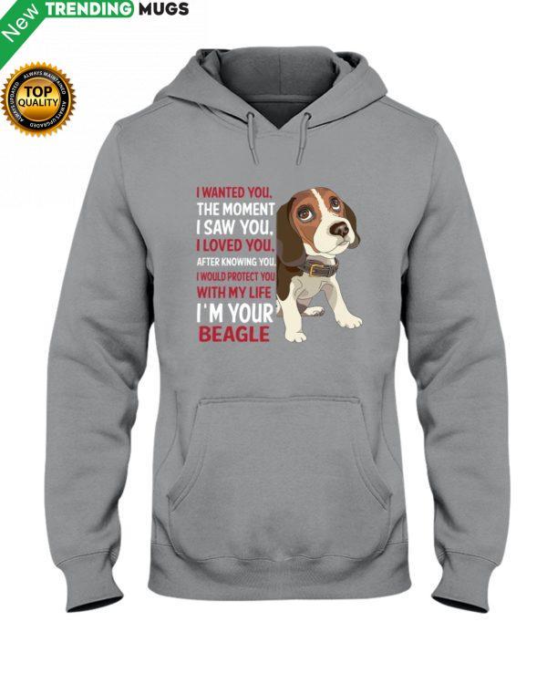 Beagle Wanted Hooded Sweatshirt Apparel