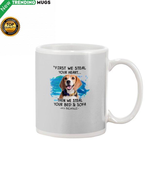 Beagle First steal your hear Mug Apparel