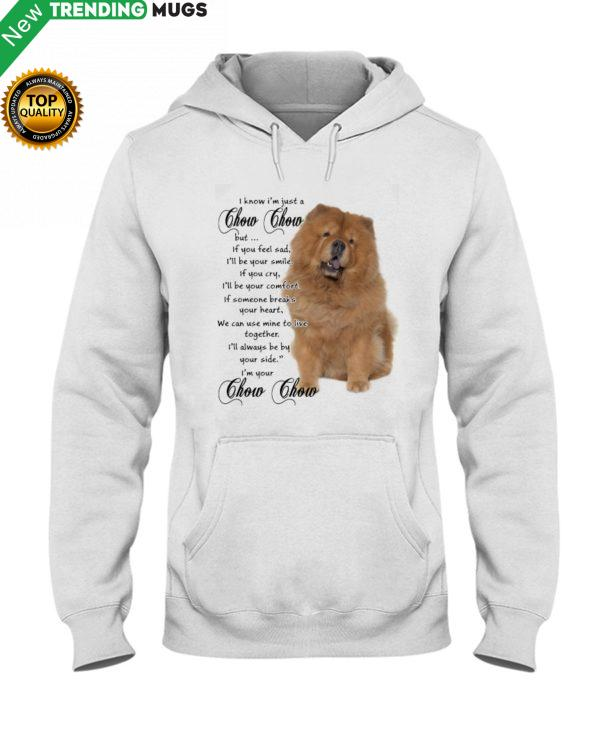 Chow Chow Together Hooded Sweatshirt Apparel