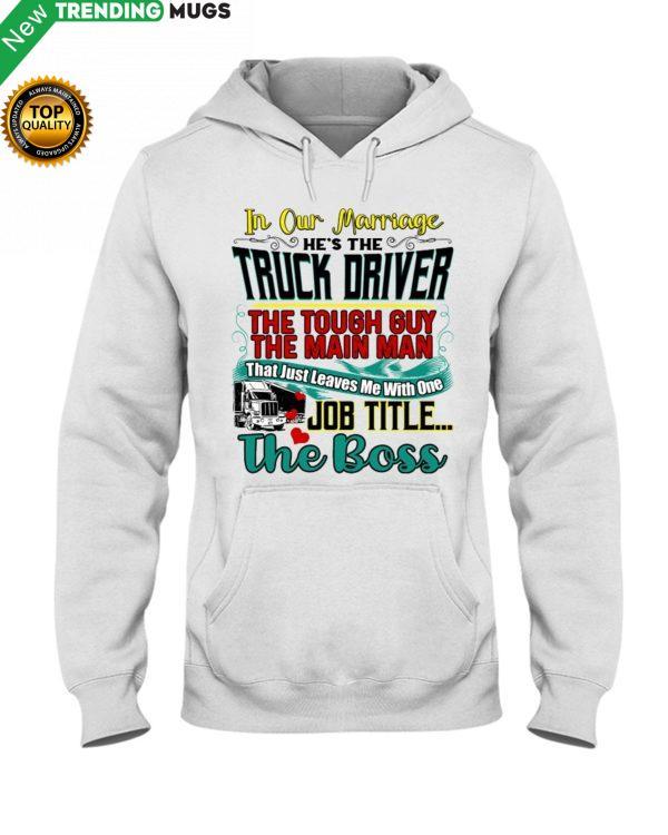 Trucker's Wife Hooded Sweatshirt Apparel