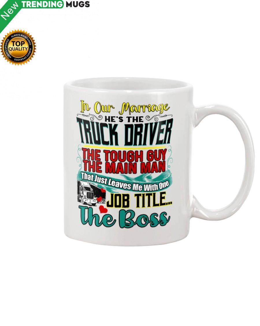 Trucker's Wife Mug Apparel