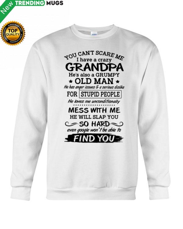 YOU CAN'T SCARE ME AMAZING GIFT FOR GRANDKIDS Shirt, Hoodie Apparel