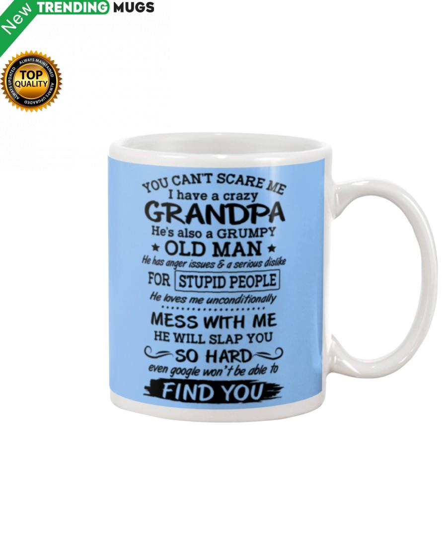 YOU CAN'T SCARE ME AMAZING GIFT FOR GRANDKIDS Mug Apparel