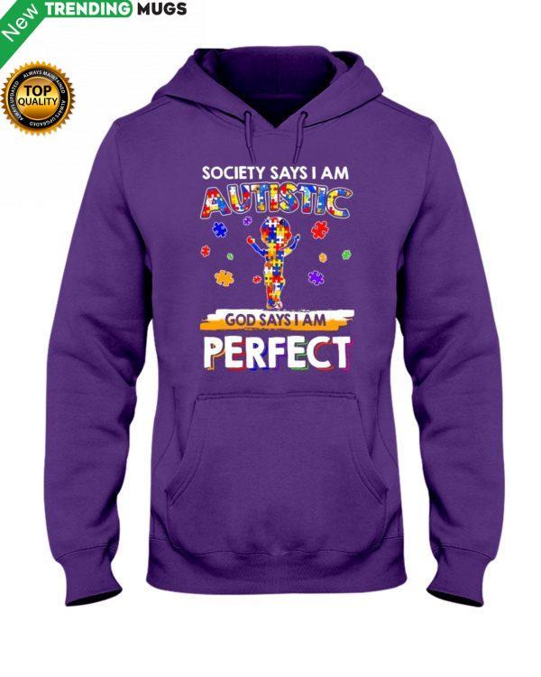 GOD SAYS I'M PERFECT Shirt, Hoodie Apparel