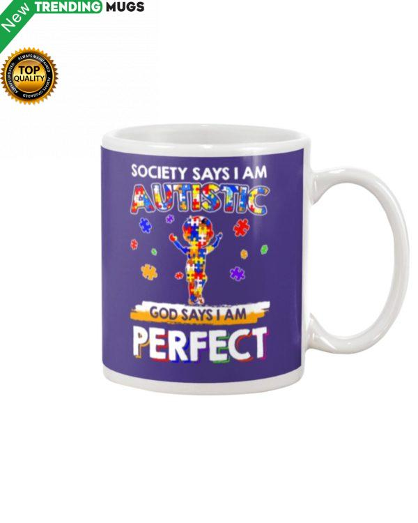 GOD SAYS I'M PERFECT Mug Apparel