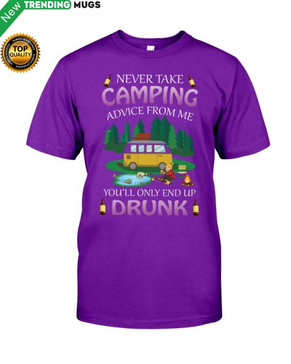 Never Take Camping Advice From Me Shirt, Hoodie Apparel