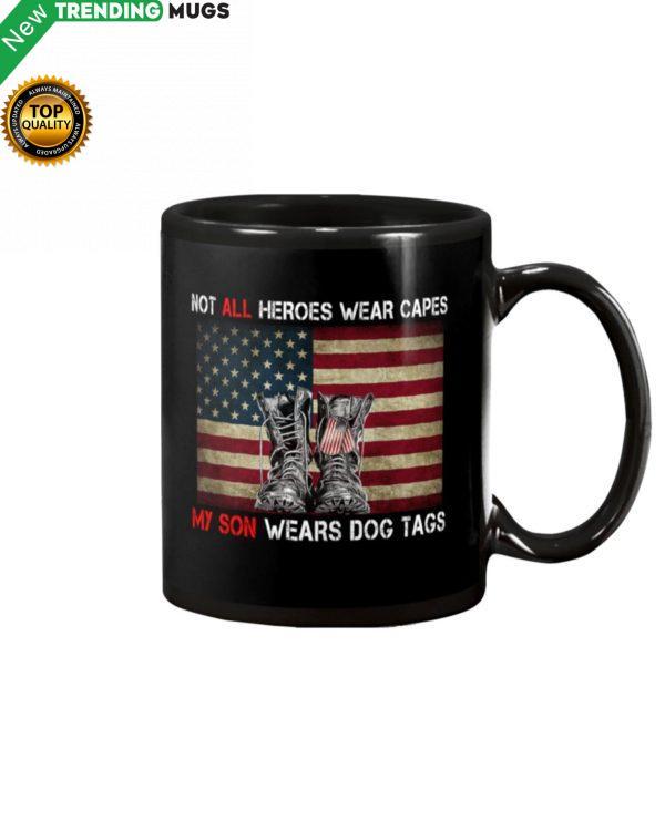 My Son Wears Dog Tags Mug Apparel