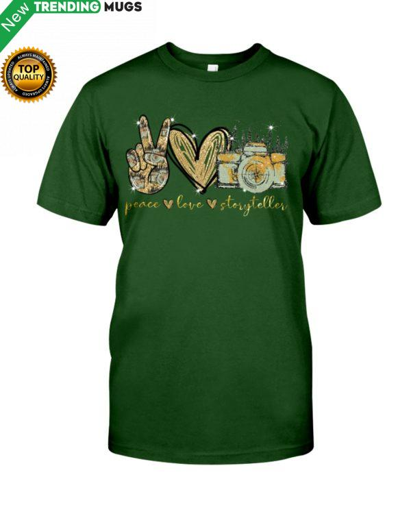 Peace Love Storyteller Shirt, Hoodie Apparel