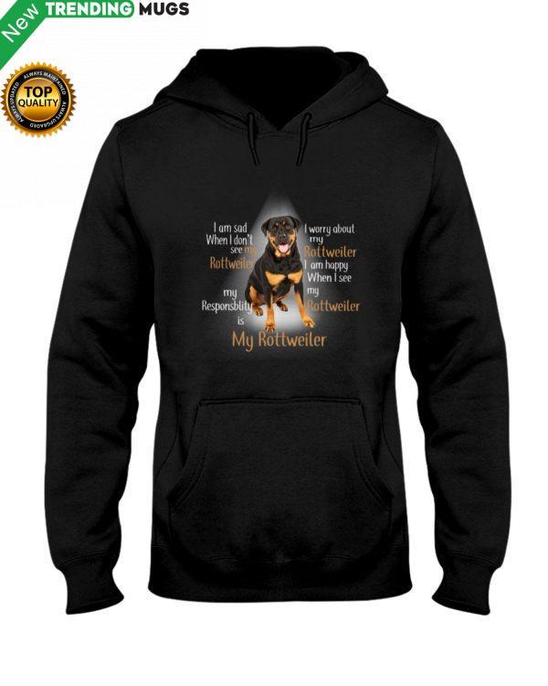 Rottweiler Light Shirt, Hoodie Apparel