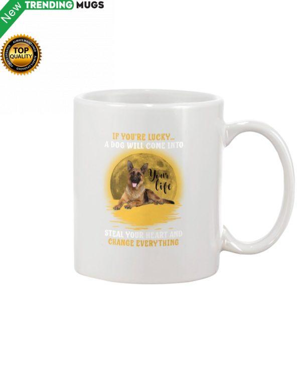 German Shepherd Lucky Mug Apparel