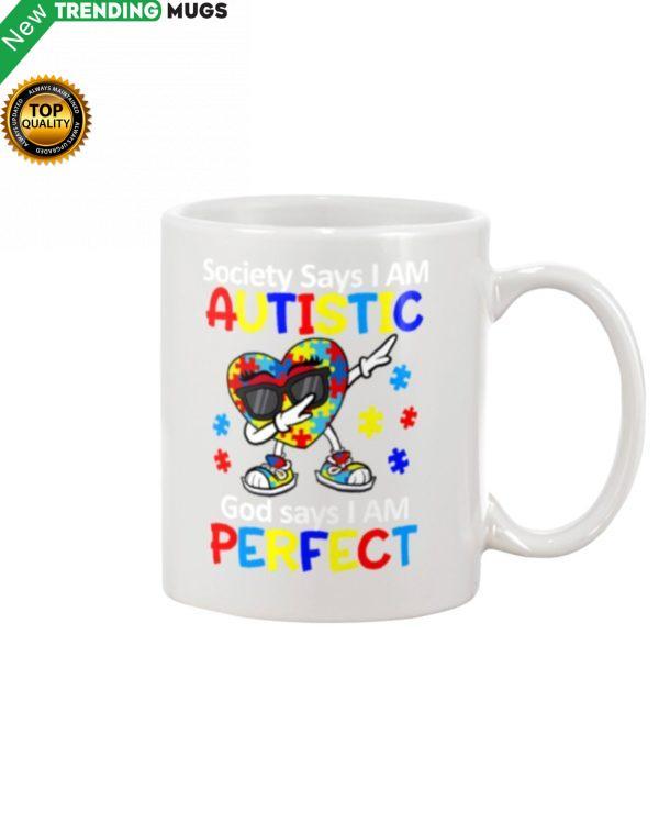 GOD SAYS I AM PERFECT Mug Apparel