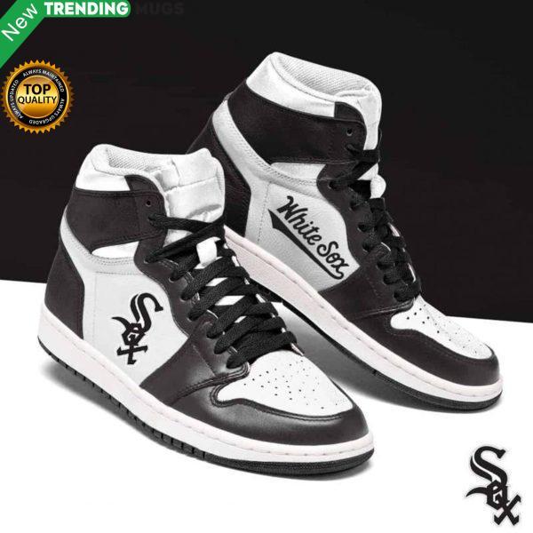 Chicago White Sox Mlb Men Jordan Shoes Unique Chicago White Sox Custom Sneakers Shoes & Sneaker
