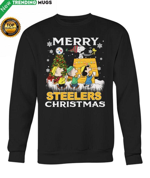 Peanuts Merry Steelers Christmas Shirt Jisubin Apparel