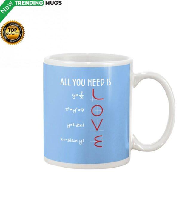 Love Math Mug Apparel