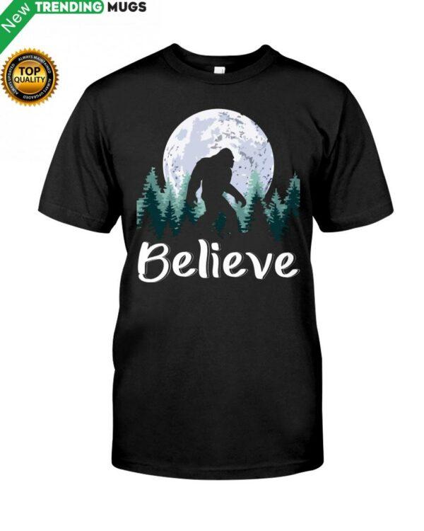 Believe Bigfoot Classic T Shirt Apparel