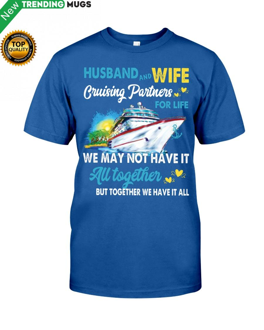 Cruises Lovers HUSBAND AND WIFE CRUISING Classic T Shirt Apparel