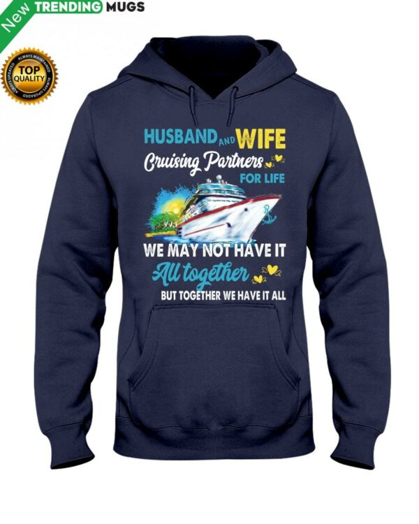 Cruises Lovers HUSBAND AND WIFE CRUISING Hooded Sweatshirt Apparel