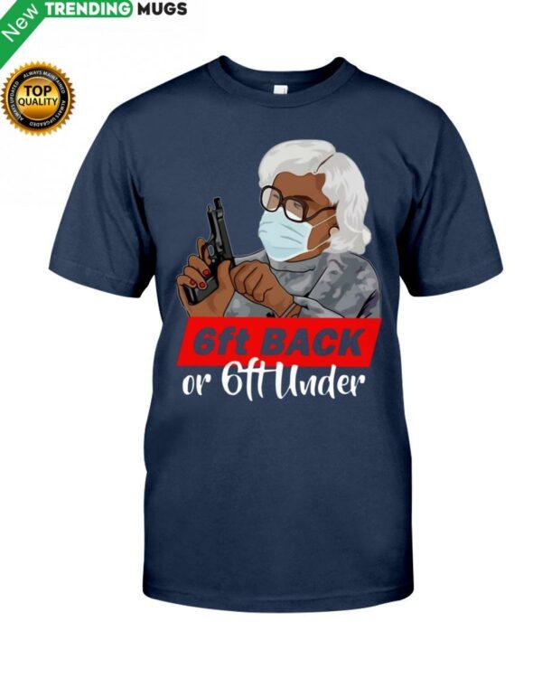 6Ft Back Classic T Shirt Apparel