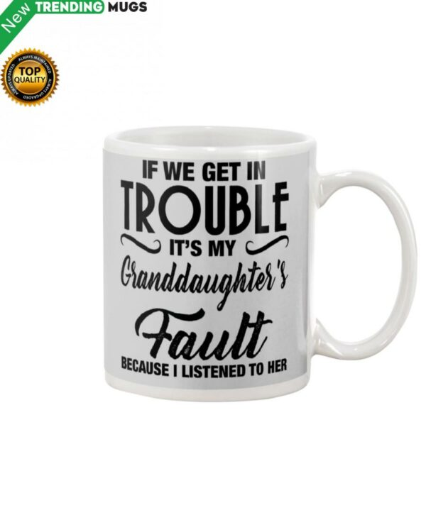 I LISTENED TO HER PERFECT GIFT FOR GRANDMA Mug Apparel