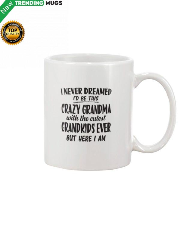 I Never Dreamed Id Be This Crazy Grandma With Mug Apparel